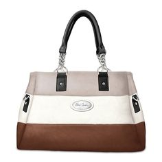 Handbag: Alfred Durante Astoria Stripe Satchel Handbag from Bradford Exchange on Catalog Spree, my personal digital mall.