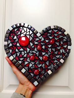 Mosaic heart for my oldest son and his girlfriend :)