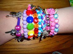 bracelets collection of Lena. Craft ideas 676 - LC.Pandahall.com