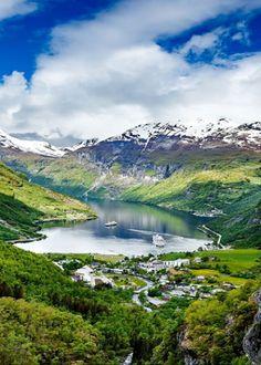 Der berühmte Geirangerfjord in Norwegen!