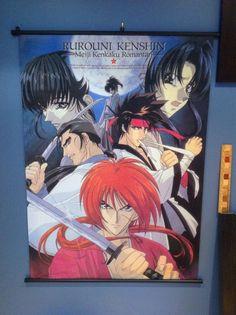 Rurouni Kenshin Wall Scroll Anime