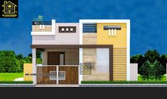 Small House Elevation Design 25 Elegant Groundfloor Smallhouse Elevation In 2020 House Main Gates Design, Single Floor House Design, House Outside Design, Small House Design, West Facing House, House Elevation, Building Elevation, Model House Plan, Village House Design