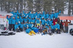 The Test 2013 team at Fernie BC in March. More than 200 pairs of 2013 model skis put to the test for reports in fall issues of Ski Canada. photo: Henry Georgi