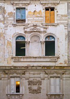 Italian colonial building in Tripoli - Libya by Eric Lafforgue on Flickr.