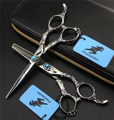 NEW ARRIVAL !!! 6INCH Professional Hairdressing Scissors Hair Cutting and Thinning Scissors Barber Shears  Monkey handle