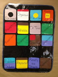 """Great Idea for a modern style success bulletin board.  """"Have all the apps for a successful year"""""""