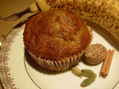 Muffins aux bananes et épices