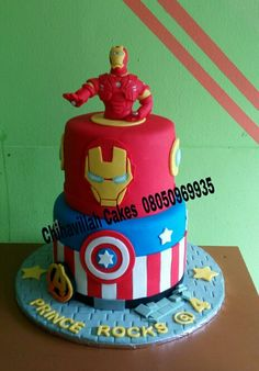 Iron Man by chihavillah cakes