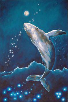 "Saatchi Art Artist: Andrei Engelman; Oil 2013 Painting ""White whale"""