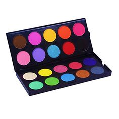 Beauty & Health The Best Eye Shadow Tray Long-lasting Plate Powder Casual Makeup Colors Eyeshadow 1 Shadow Catwalk Stage Portable Eye Novel Fashion Excellent In Cushion Effect Eye Shadow