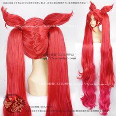Heroes Union Star Guardian Magic Girl jinx Jinke Si Laxi Gana Cos wig
