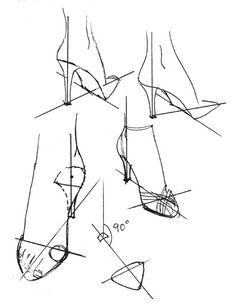 *High Heel Anatomy* This could use a bit of a revision though- you can't have a full anatomical diagram if you leave off the most essential elements. And no heel is complete without a Heelho Insole! #HighHeelHeaven