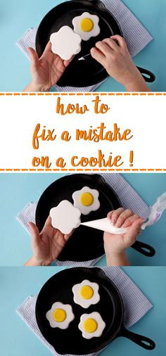 How to Fix a Mistake on a Decorated Cookie