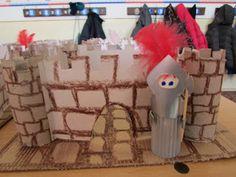 Játékos tanulás és kreativitás: Középkori vár és katona