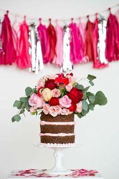 La boda de Lucía » Ideas para que tu boda sea un éxito » ¿Qué es un naked rustic cake?