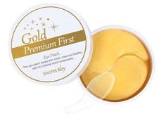 SECRET KEY Gold Premium First Eye Patch 60EA Moisturized,Whitening,Anti-Wrinkle #SECRETKEY