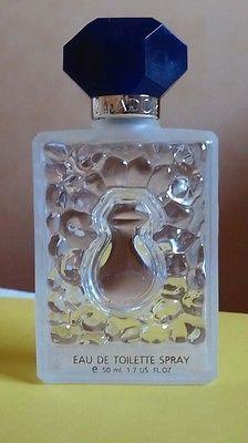 """Flacon de parfum vide""""SALVADOR DALI"""" pour collectionneur 2,50€"""