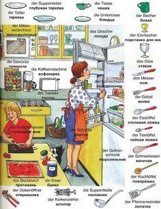 Die Küche für Nastia