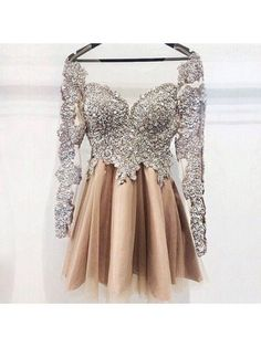 short champagne prom dress homecoming dress,2017 prom dress homecoming dress