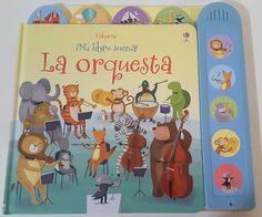 Hola: Hoy os traigo un libro chulísimo, ideal para enseñar los primeros conceptos musicales a los más pequeños de la casa. Se trat...