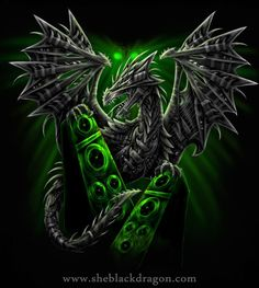 Electric Dragon by Linda M. Jones