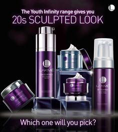 To keep your 20s party perfect skin alive, the Youth Infinity product range is a must-have.