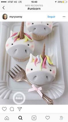 Cupcake de unicornio