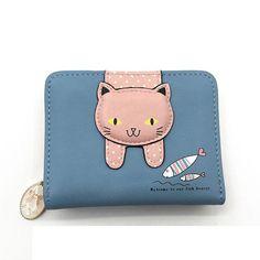 Canvas Cash Coin Purse,Flock Of Birds Print Make Up Bag Zipper Small Purse Wallets