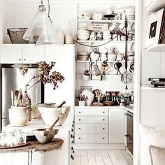 Kitchen goals for real  from Elle Decor UK