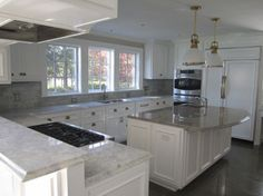Google Image Result for http://homesideas.efinitystudiosin.netdna-cdn.com/wp-content/uploads/2012/06/Antique-White-Kitchen-Cabinets-with-Granite-Countertops-450x337.jpg