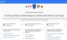 Mi Cuenta es un nuevo sitio de Google desde donde podemos configurar muchos aspectos relativos a nuestra privacidad y seguridad en los servicios de Google.