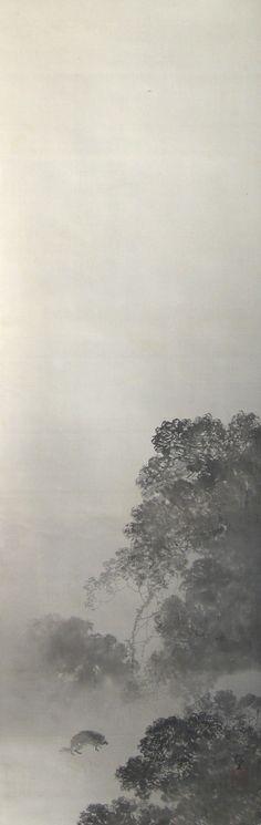 Okoku Konoshima 木島桜谷 (1877−1938), Dead of Night (Shin'ya).