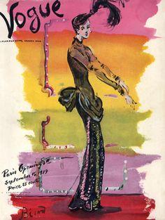 Vogue cover I 1939 I Christian Berard