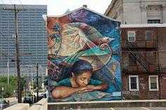 "by Josh Sarantitis - ""Philadelphia Reads"" - Philadelphia, Pennsylvani (USA) - 1999"