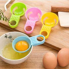4 unids Huevo Separador Yema Tamizar Home Kitchen Chef de Cocina Gadget Nuevo