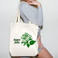 Kappa Delta Sorority Mascot Printed Tote Bag