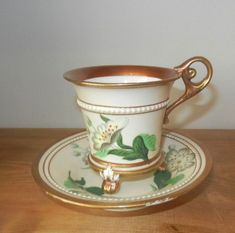 Minton Porcelain Cup and Saucer