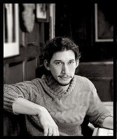 LOVING the knitwear. He's like a kindly lighthouse keeper.