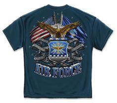 USAF Tattered Flag t shirt http://www.priorservice.com/u-s--air-force-tattered-flag-t-shirt.html