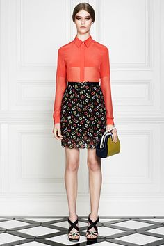 Photos of the runway show or presentation for Jason Wu Resort 2013 Womenswear Shows in New York. Jason Wu, Fashion Week, Fashion Addict, Fashion Show, Flower Skirt, Chic, Spring Summer Fashion, Nice Dresses, Ready To Wear
