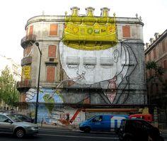 Lisboa Mural - Os Gemeos
