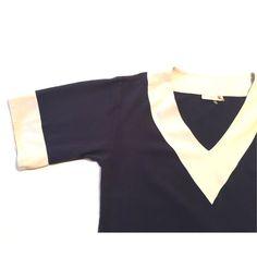 ⚡️FLASH SALE ⚡️$10.00 off Tory Burch Tunic Navy blue • M • 100% silk Tory Burch Tops Tunics