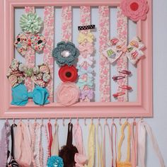 I love this for hair bows and the headbands!