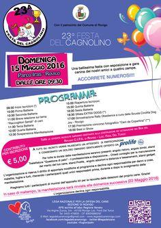 15/5 Festa del Cagnolino organizzata dai #volontari della #LegadelCane #Rovigo