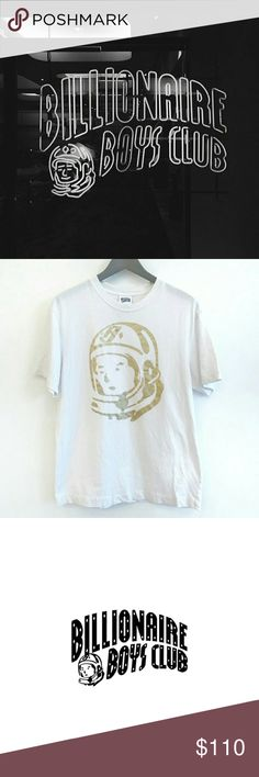 BBC MOONMAN TEE - WHITE Lightly worn. Last time I checked this particular shirt was sold out on the website.   Feel free to make an offer, but no low-balling! Billionaire Boys Club Shirts