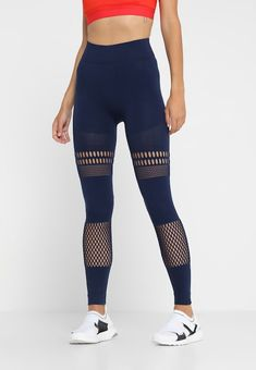 5af5cd88b0b79 adidas by Stella McCartney Tights - night indigo - Zalando.no