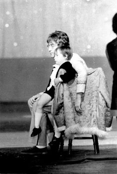 John & son, Julian Lennon (Born: April 8, 1963, Liverpool, United Kingdom Parents: Cynthia Lennon, John Lennon)