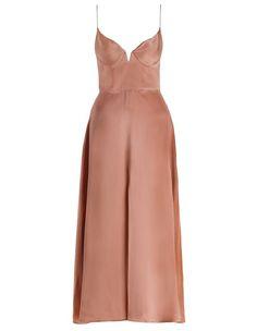 Sueded Bralette Dress