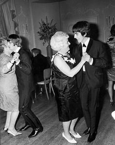George dancing with his Mum