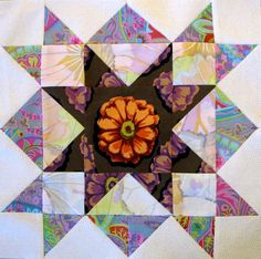 - August Double Star Block